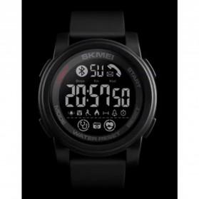 SKMEI Sport Smartwatch Jam Tangan Olahraga Heartrate Calorie - 1593 - Black