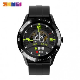SKMEI Smartwatch Jam Tangan LED Bluetooth Heartrate Monitor - S1 - Black