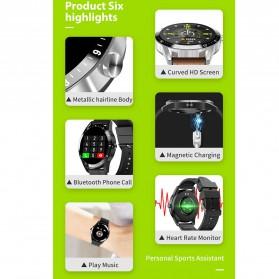 SKMEI Smartwatch Jam Tangan LED Bluetooth Heartrate Monitor - S1 - Black - 3