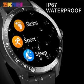 SKMEI Smartwatch Jam Tangan LED Bluetooth Heartrate Monitor - S1 - Black - 6