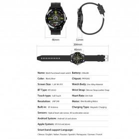 SKMEI Smartwatch Jam Tangan LED Bluetooth Heartrate Monitor - S1 - Black - 9