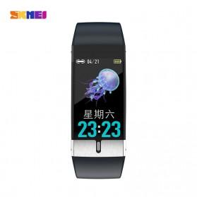 SKMEI Smartwatch Bracelet Sport Tracker Blood Pressure Heart Rate Thermometer - E66 - Black - 2