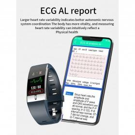 SKMEI Smartwatch Bracelet Sport Tracker Blood Pressure Heart Rate Thermometer - E66 - Black - 8