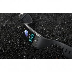 SKMEI Smartwatch Bracelet Sport Tracker Blood Pressure Heart Rate Thermometer - E66 - Black - 12