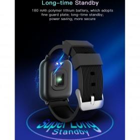 SKMEI Smartwatch Jam Tangan Pintar Heartrate Blood Pressure Monitor - G20 - Black - 2