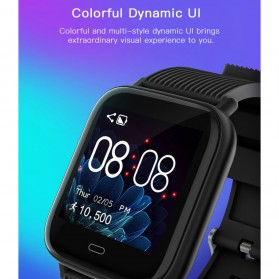 SKMEI Smartwatch Jam Tangan Pintar Heartrate Blood Pressure Monitor - G20 - Black - 3