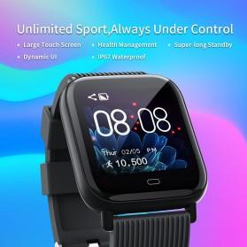 SKMEI Smartwatch Jam Tangan Pintar Heartrate Blood Pressure Monitor - G20 - Black - 4