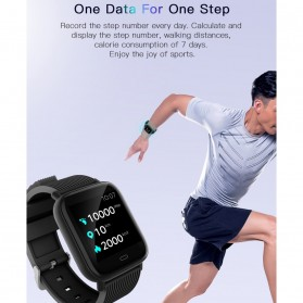 SKMEI Smartwatch Jam Tangan Pintar Heartrate Blood Pressure Monitor - G20 - Black - 8