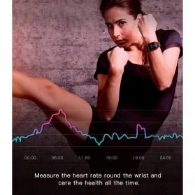 SKMEI Smartwatch Jam Tangan Pintar Heartrate Blood Pressure Monitor - G20 - Black - 9