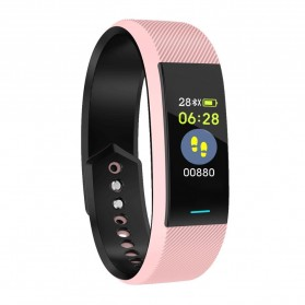 SKMEI Smartwatch Sport Tracker Blood Pressure Heart Rate - B25 - Pink