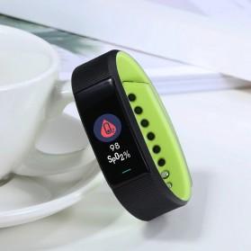 SKMEI Smartwatch Sport Tracker Blood Pressure Heart Rate - B25 - Black - 2