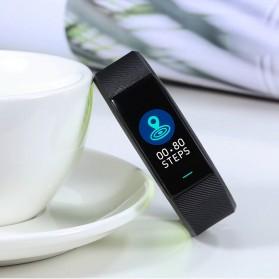 SKMEI Smartwatch Sport Tracker Blood Pressure Heart Rate - B25 - Black - 3