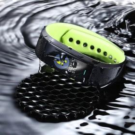 SKMEI Smartwatch Sport Tracker Blood Pressure Heart Rate - B25 - Black - 4