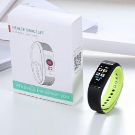 SKMEI Smartwatch Sport Tracker Blood Pressure Heart Rate - B25 - Black - 6