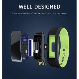 SKMEI Smartwatch Sport Tracker Blood Pressure Heart Rate - B25 - Black - 8