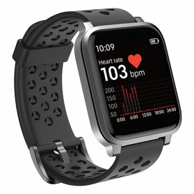 SKMEI Smartwatch Sport Fitness Tracker Heart Rate Waterproof for Android iOS  - X3C - Black