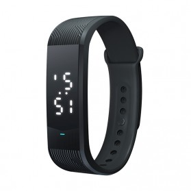 SKMEI Jam Tangan Digital LED Gelang Sport Watch - B30S - Black - 1