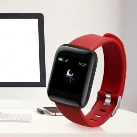 SKMEI Smartwatch Sport Tracker Bluetooth Heart Rate - 116 PLUS - Black - 2