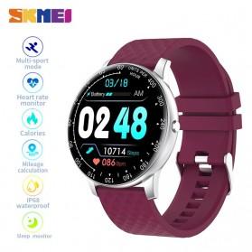 SKMEI Smartwatch Sport Tracker Blood Pressure Heart Rate - H30 - Silver Black - 2