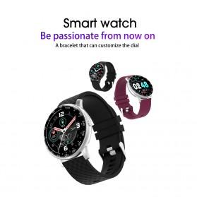 SKMEI Smartwatch Sport Tracker Blood Pressure Heart Rate - H30 - Silver Black - 8