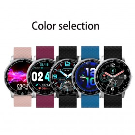 SKMEI Smartwatch Sport Tracker Blood Pressure Heart Rate - H30 - Silver Black - 10