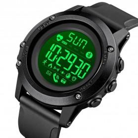 SKMEI Sport Tracker Blood Pressure Heart Rate Monitor - 1671 - Black - 2