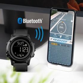 SKMEI Sport Tracker Blood Pressure Heart Rate Monitor - 1671 - Black - 5