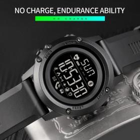 SKMEI Sport Tracker Blood Pressure Heart Rate Monitor - 1671 - Black - 6