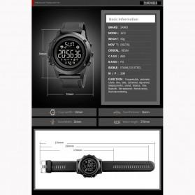 SKMEI Sport Tracker Blood Pressure Heart Rate Monitor - 1671 - Black - 9