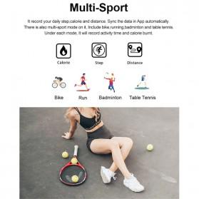 SKMEI Smartwatch Sport Fitness Tracker Heart Rate Blood Oxygen Thermometer - B6W - Black - 4