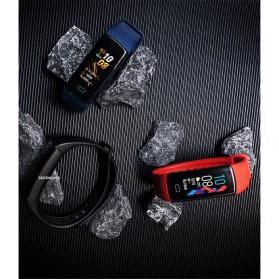 SKMEI Smartwatch Sport Fitness Tracker Heart Rate Blood Oxygen Thermometer - B6W - Black - 6