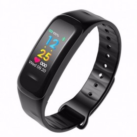 SKMEI Smartwatch Sport Fitness Tracker Heart Rate Blood Oxygen - C1 Plus - Black - 2