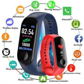 SKMEI Smartwatch Sport Fitness Tracker Heart Rate Blood Oxygen - C1 Plus - Black - 3