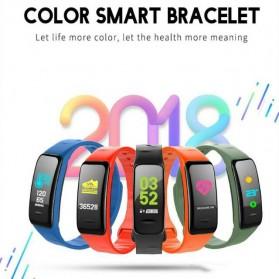 SKMEI Smartwatch Sport Fitness Tracker Heart Rate Blood Oxygen - C1 Plus - Black - 5