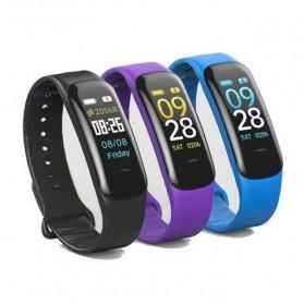 SKMEI Smartwatch Sport Fitness Tracker Heart Rate Blood Oxygen - C1 Plus - Black - 6