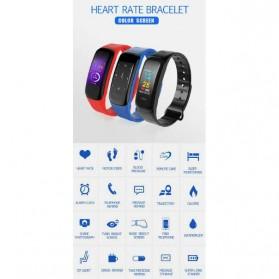 SKMEI Smartwatch Sport Fitness Tracker Heart Rate Blood Oxygen - C1 Plus - Black - 7