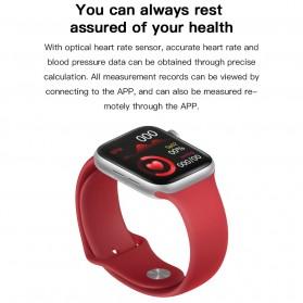 SKMEI Smartwatch Sport Fitness Tracker Heart Rate Blood Oxygen - X6 - Rose Gold - 7