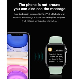 SKMEI Smartwatch Sport Fitness Tracker Heart Rate Blood Oxygen - X6 - Rose Gold - 10