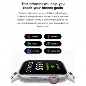 SKMEI Smartwatch Sport Fitness Tracker Heart Rate Blood Oxygen - X7 - Black - 9