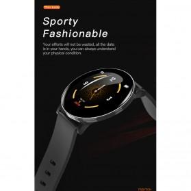 SKMEI Smartwatch Sport Fitness Tracker Heart Rate Blood Oxygen Stainless Steel - W8S - Black - 2