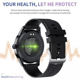 SKMEI Smartwatch Sport Fitness Tracker Heart Rate Blood Oxygen - Y20 - Silver - 2