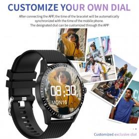 SKMEI Smartwatch Sport Fitness Tracker Heart Rate Blood Oxygen - Y20 - Silver - 7