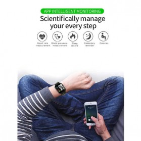 SKMEI Smartwatch Sport Fitness Tracker Heart Rate Blood Pressure - F8 - Green - 5
