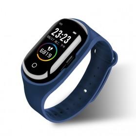 SKMEI Smartwatch Sport Fitness Tracker Heart Rate Blood Pressure with Bluetooth Earphone - M1 - Black - 2