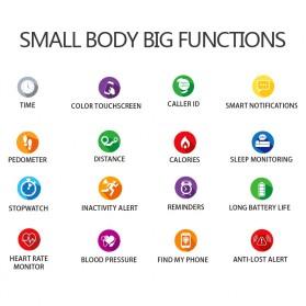 SKMEI Smartwatch Sport Fitness Tracker Heart Rate Blood Oxygen - F8 - White - 2