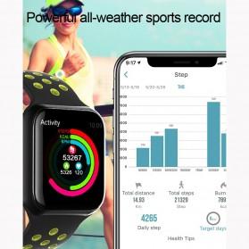SKMEI Smartwatch Sport Fitness Tracker Heart Rate Blood Oxygen - F8 - White - 4