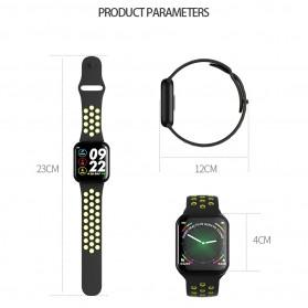 SKMEI Smartwatch Sport Fitness Tracker Heart Rate Blood Oxygen - F8 - White - 6