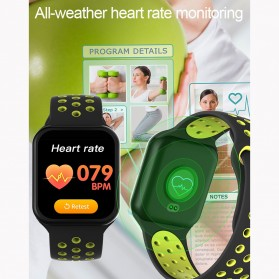 SKMEI Smartwatch Sport Fitness Tracker Heart Rate Blood Oxygen - F8 - Green - 3