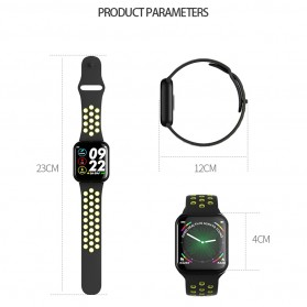 SKMEI Smartwatch Sport Fitness Tracker Heart Rate Blood Oxygen - F8 - Green - 6