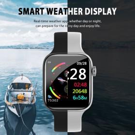 SKMEI Smartwatch Jam Tangan Olahraga Pedometer W4 - Black - 4